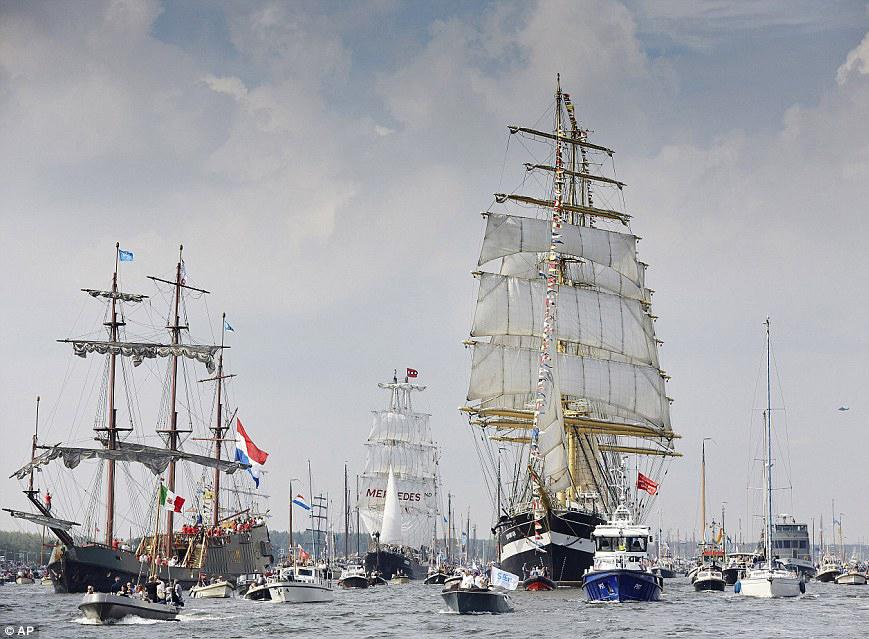 Geschiedenis Congresbureau Excel | Sail Amsterdam 1990